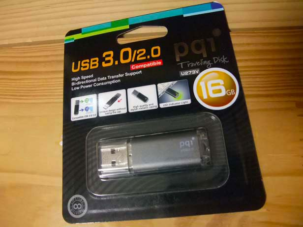 PQI USBメモリー