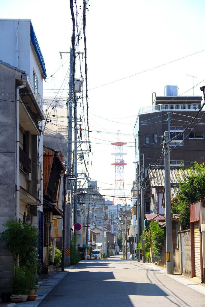 古き良き昭和の町並み